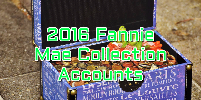 2016 Fannie Mae Collection Accounts