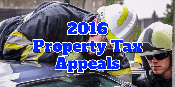 2016 Property Tax Appeals